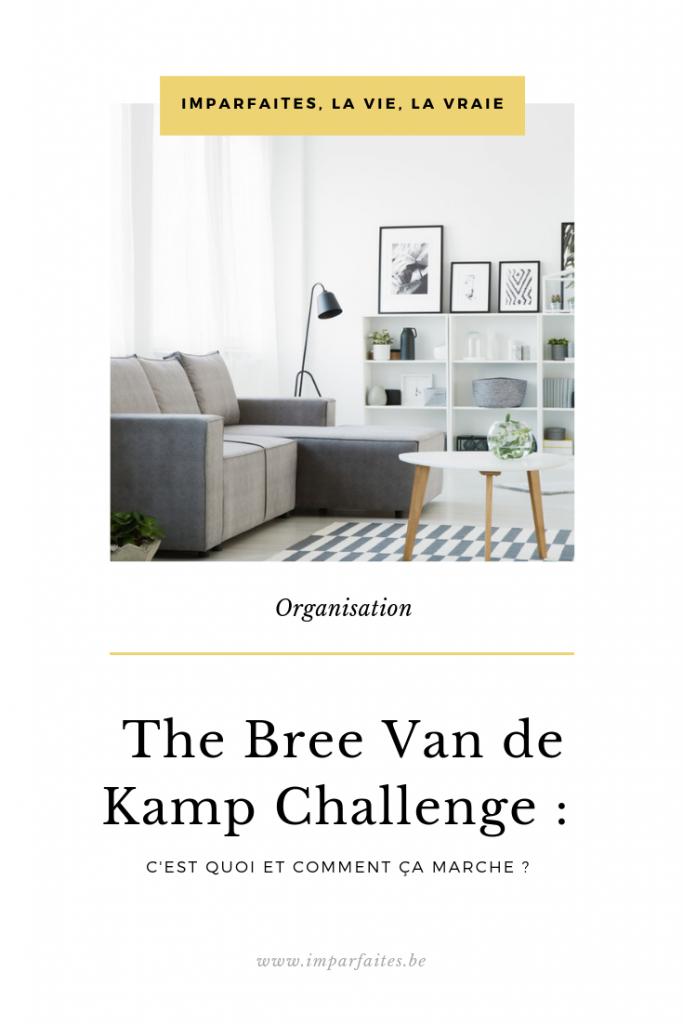 Un challenge pour t'aider à organiser toute ta maison !