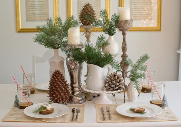 Diy Christmas Centerpiece Ideas To Complete Your Table